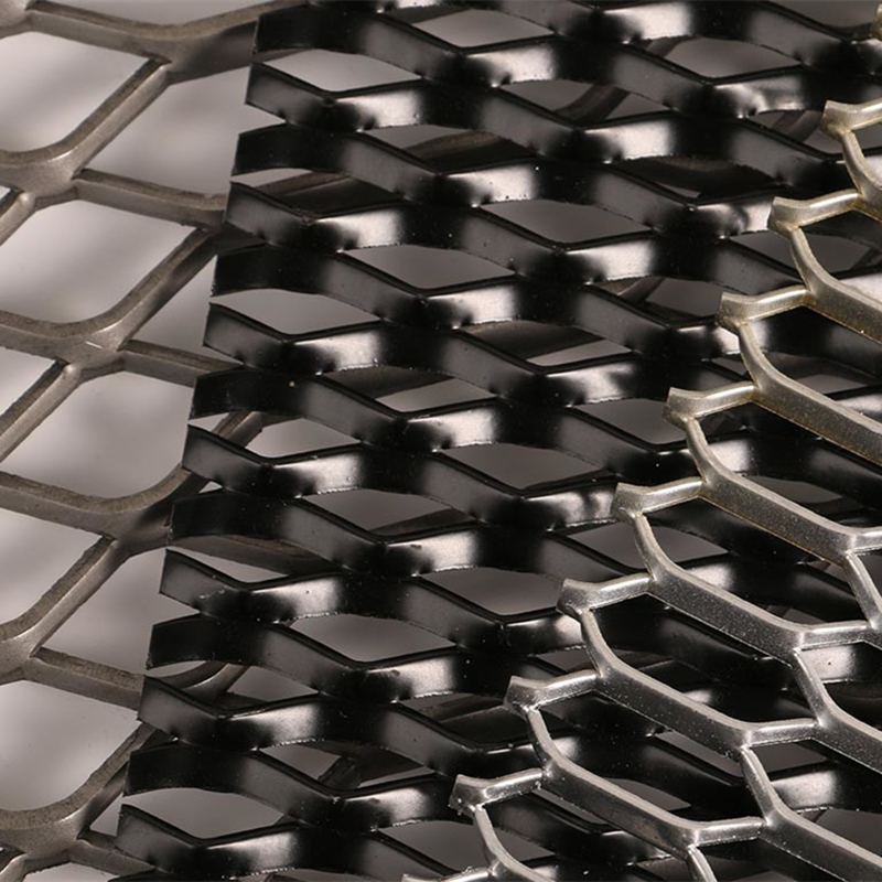 Aluminum Expanded Metal for Facade Cladding